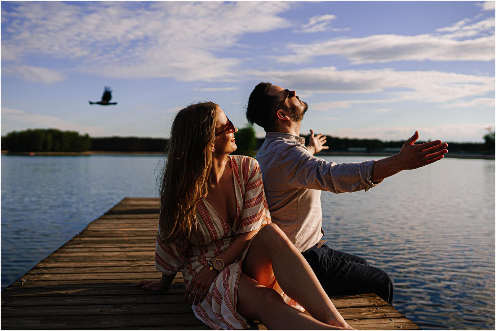 Asia & Andrzej | sesja nad jeziorem Sielpia 11