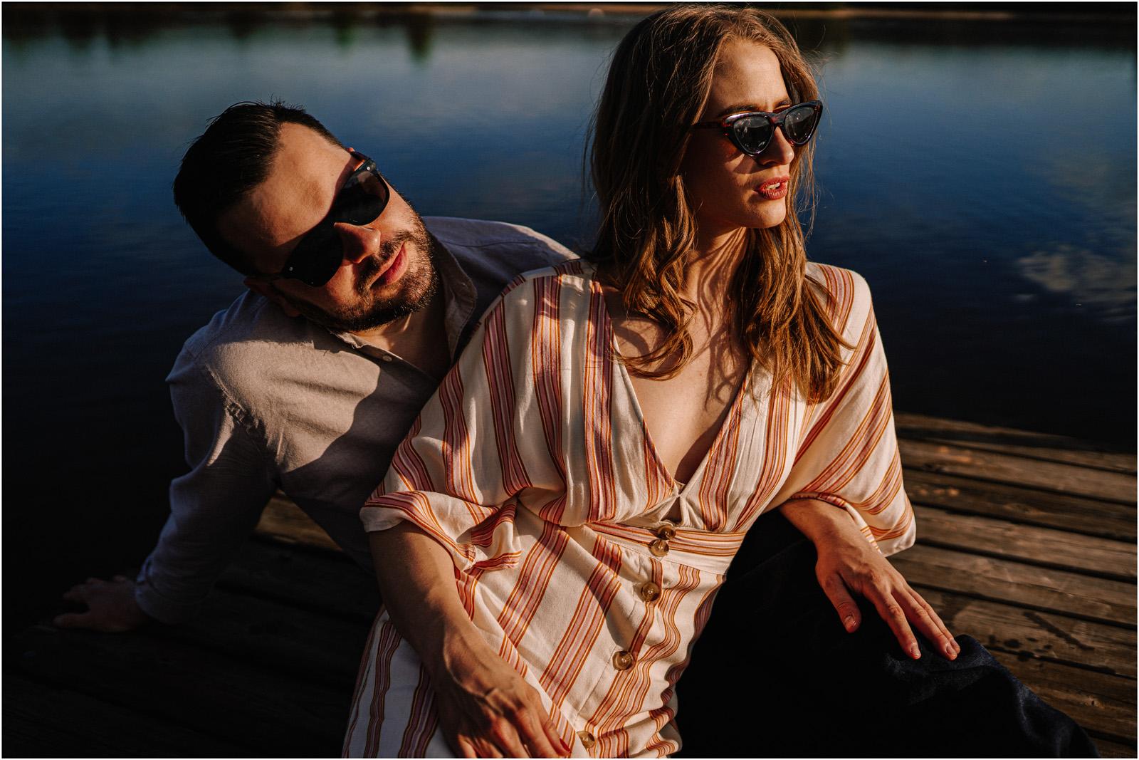 Asia & Andrzej | sesja nad jeziorem Sielpia 12