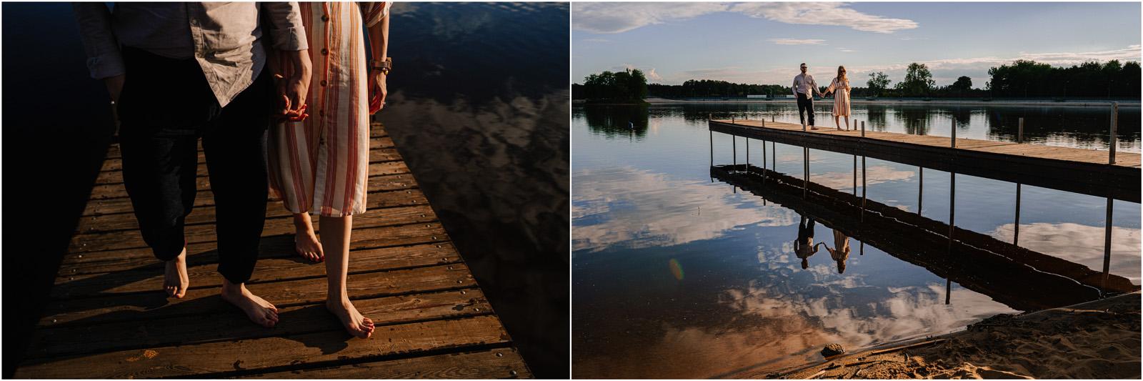 Asia & Andrzej | sesja nad jeziorem Sielpia 18
