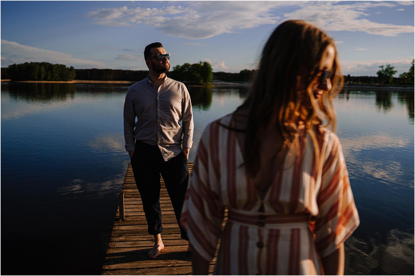 Asia & Andrzej | sesja nad jeziorem Sielpia 17