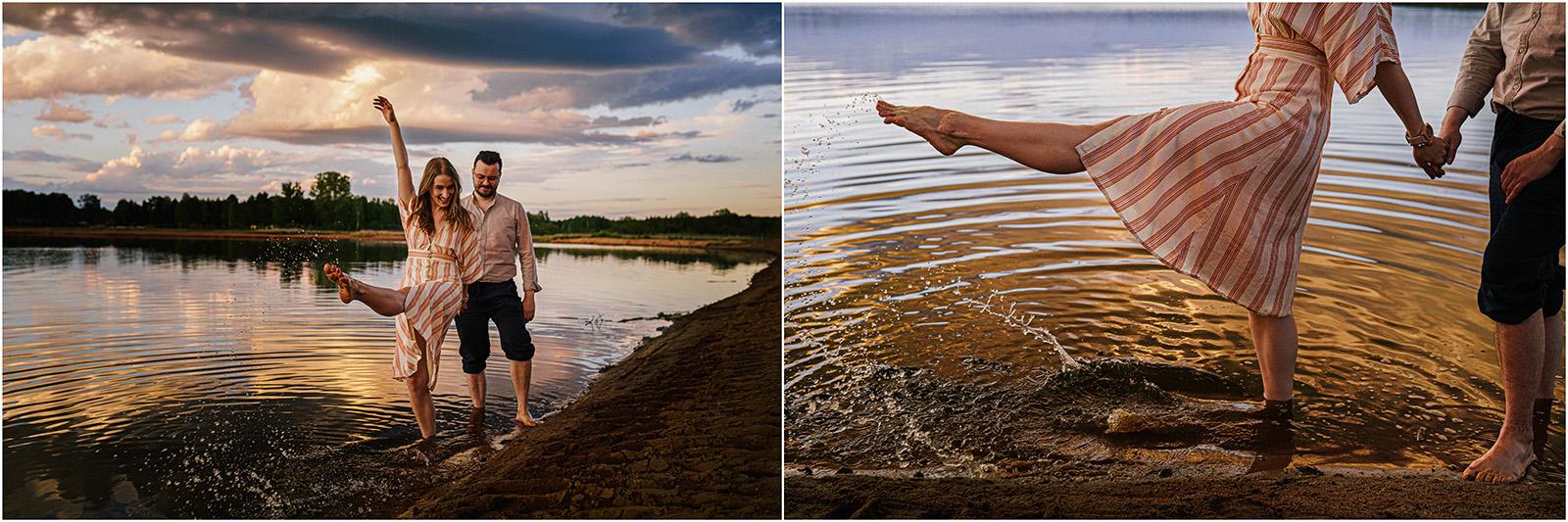 Asia & Andrzej | sesja nad jeziorem Sielpia 28