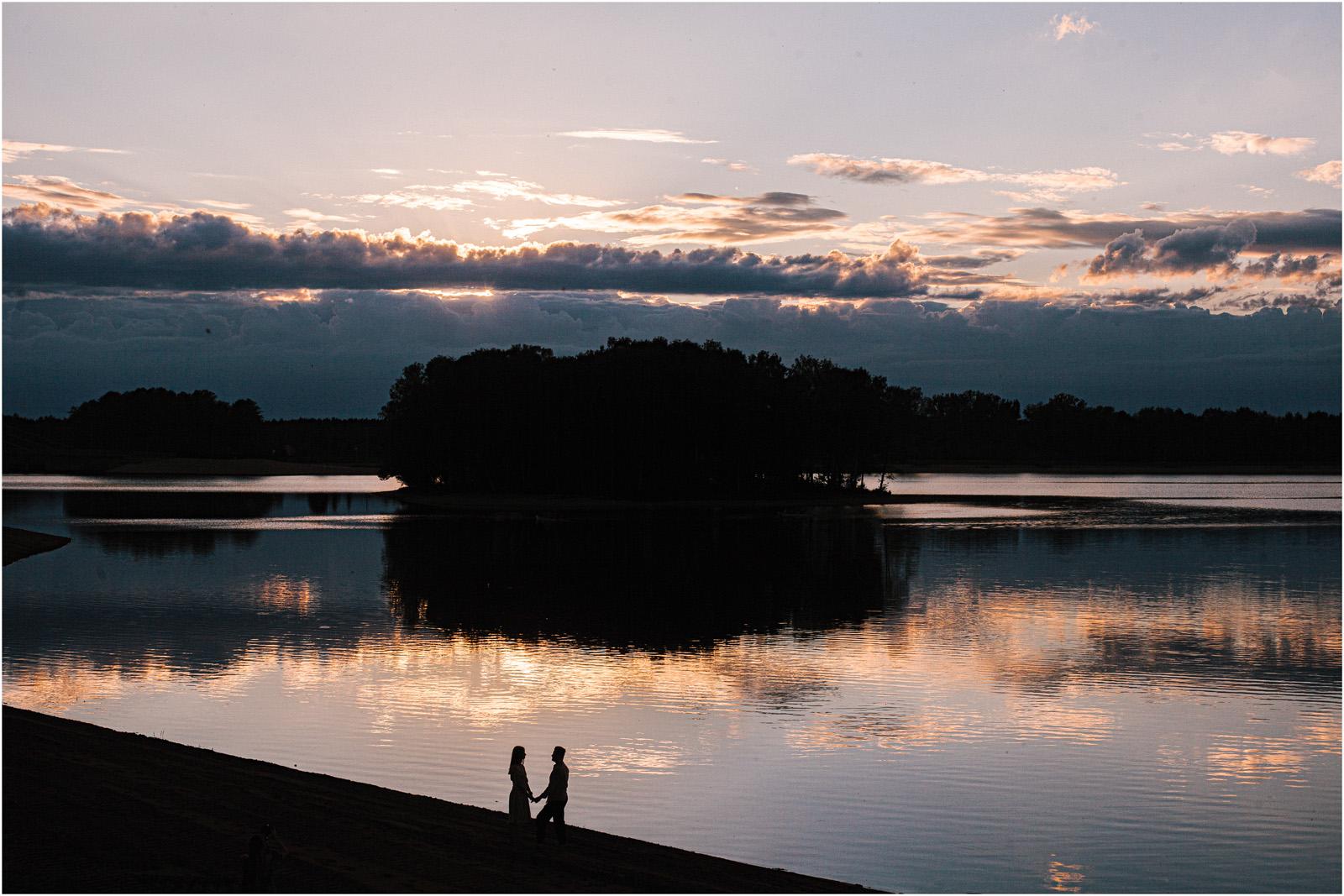 Asia & Andrzej | sesja nad jeziorem Sielpia 30