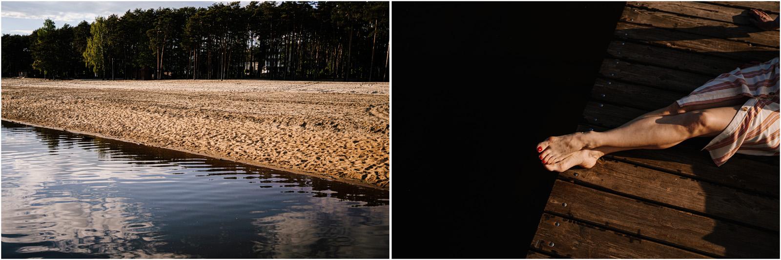 Asia & Andrzej | sesja nad jeziorem Sielpia 13