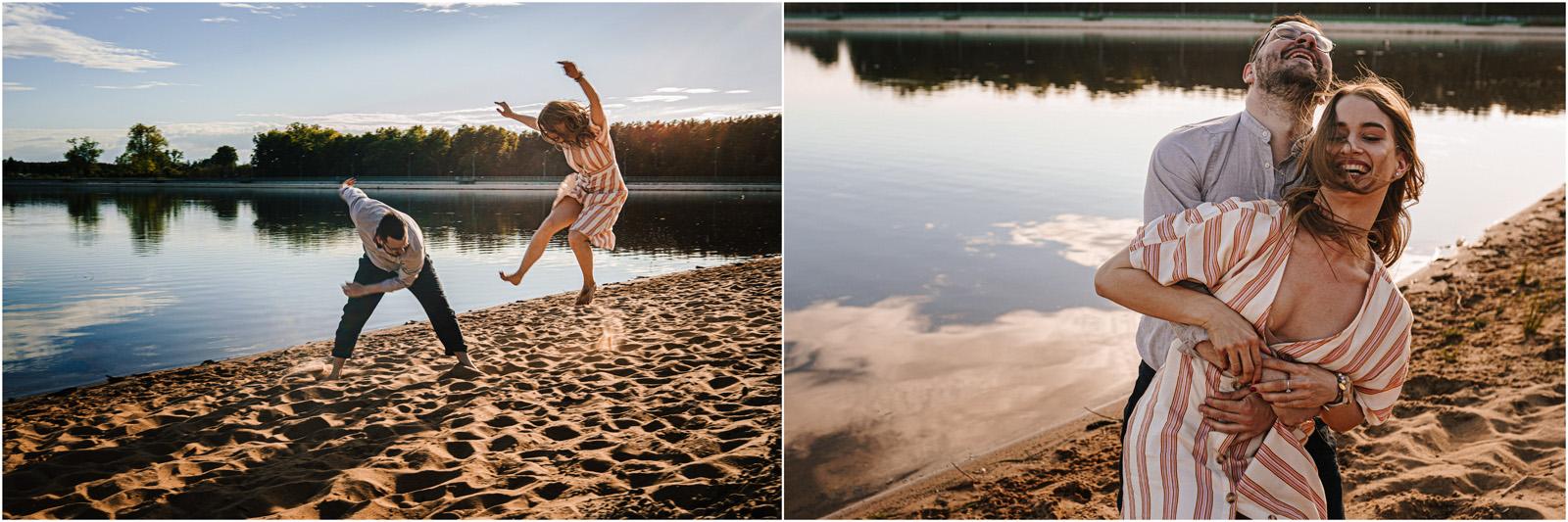 Asia & Andrzej | sesja nad jeziorem Sielpia 21