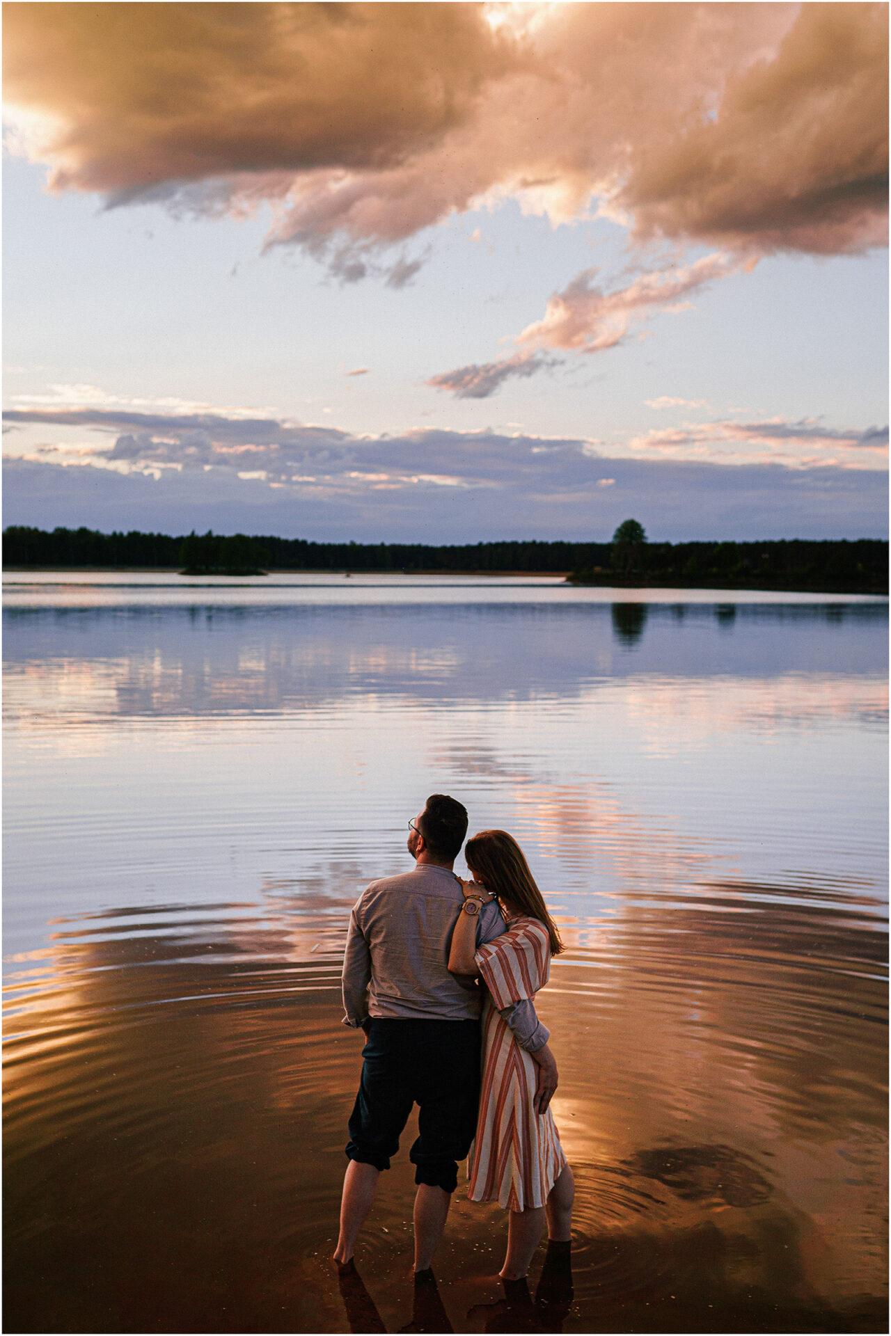 Asia & Andrzej | sesja nad jeziorem Sielpia 29