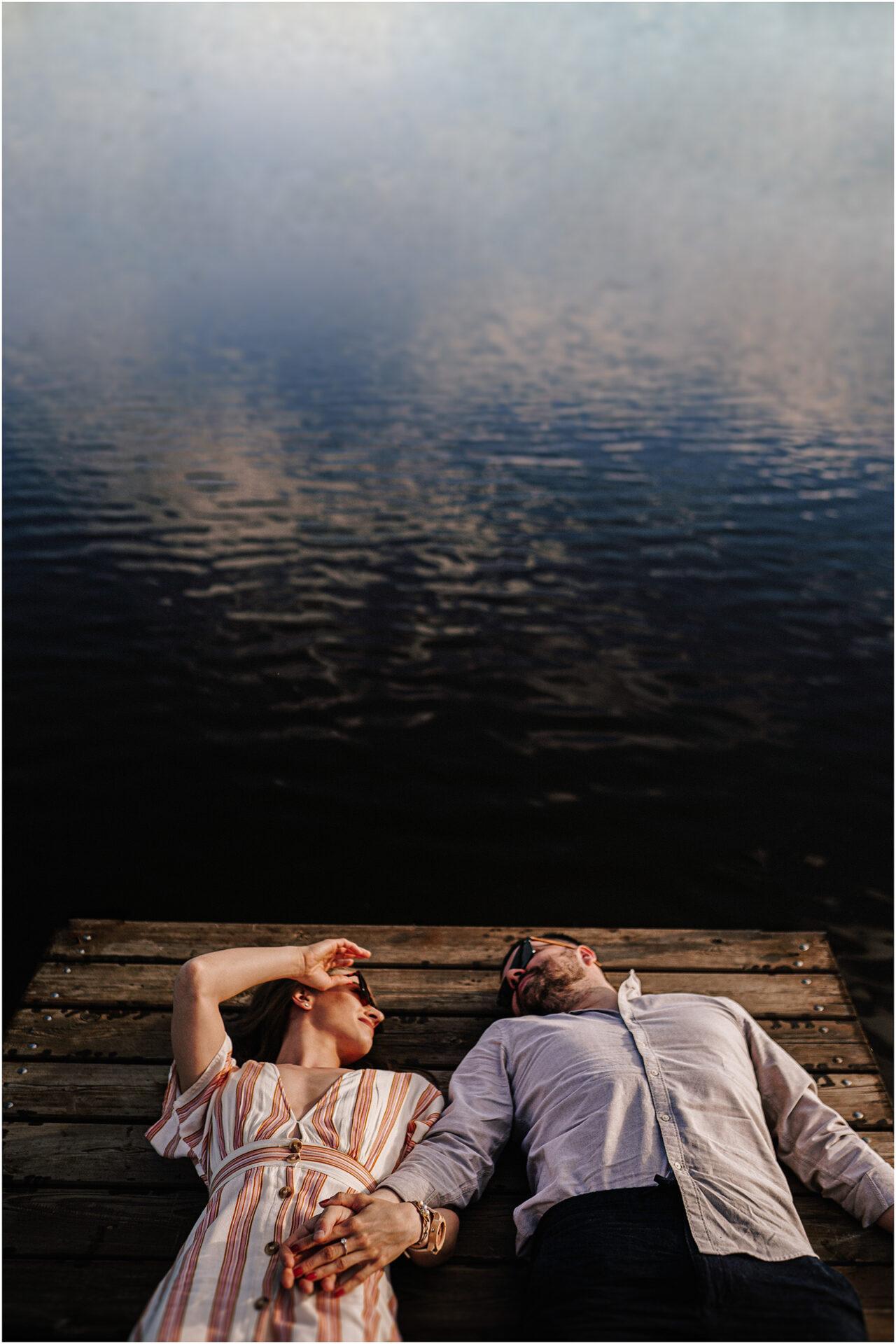 Asia & Andrzej | sesja nad jeziorem Sielpia 8