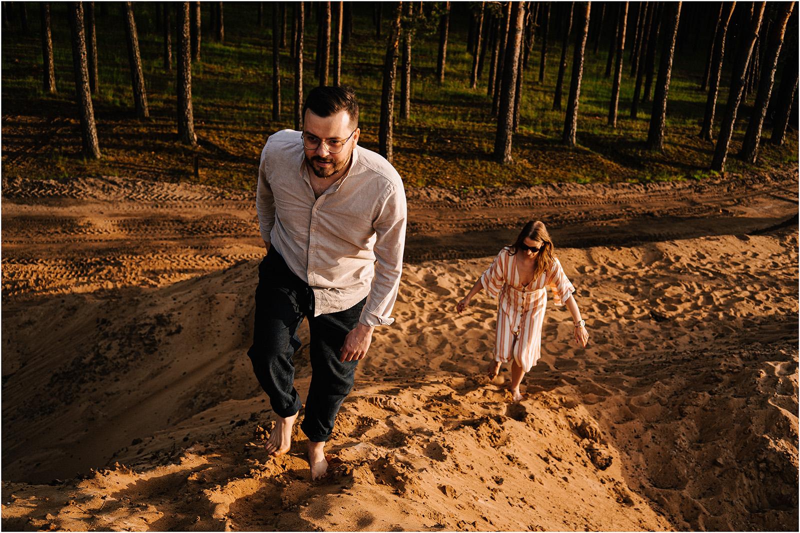 Asia & Andrzej | sesja nad jeziorem Sielpia 42