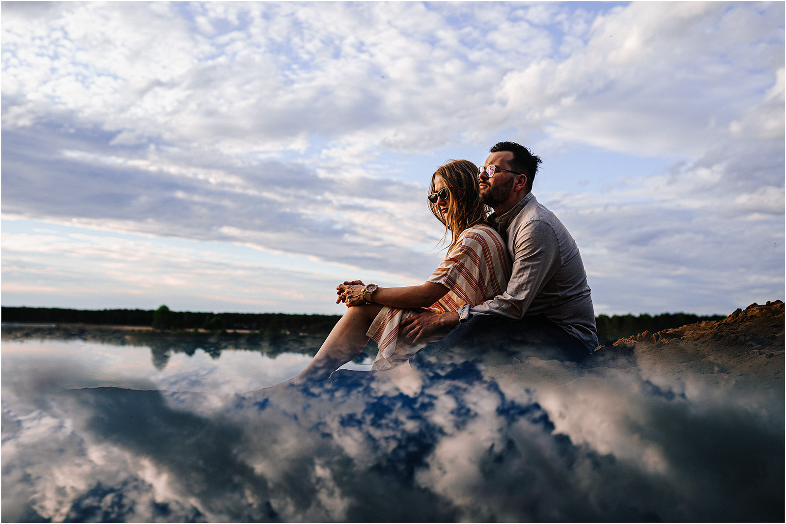 Asia & Andrzej | sesja nad jeziorem Sielpia 47