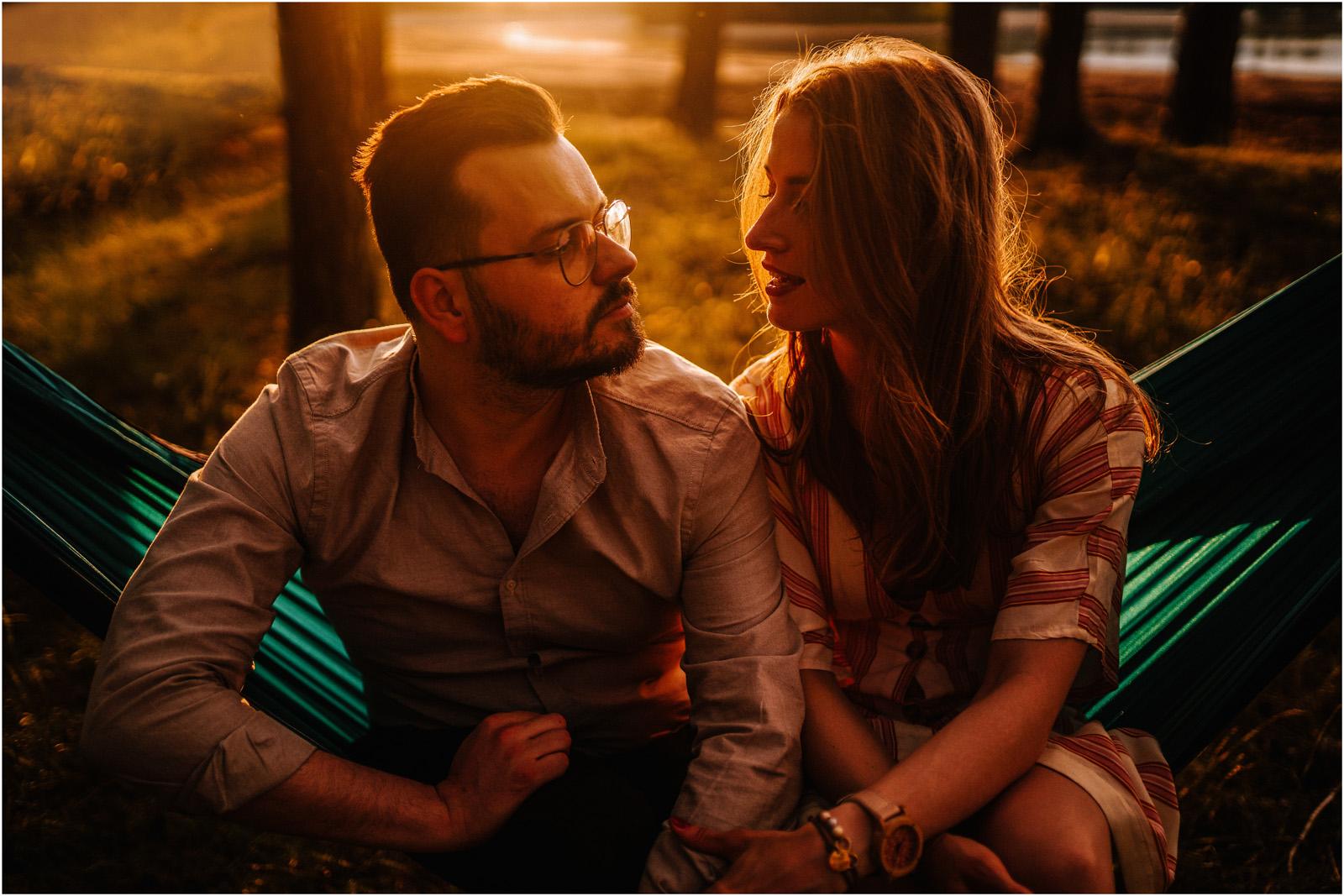 Asia & Andrzej | sesja nad jeziorem Sielpia 38