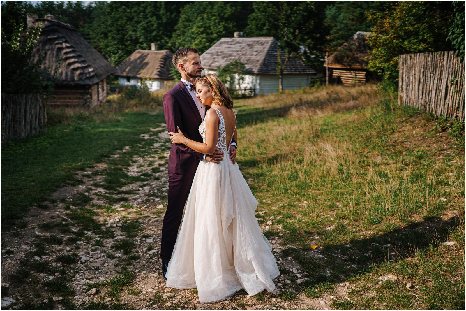 Kasia & Damian   ślub plenerowy w Kuźni Smaków i sesja w skansenie 119
