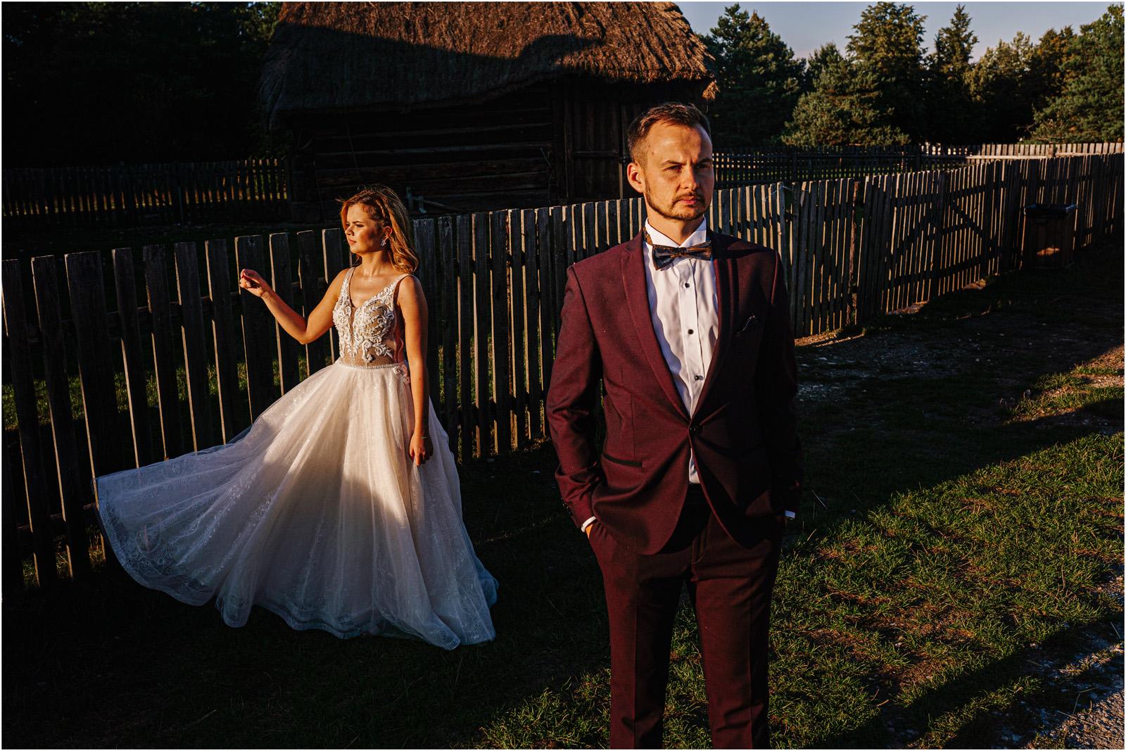 Kasia & Damian   ślub plenerowy w Kuźni Smaków i sesja w skansenie 130