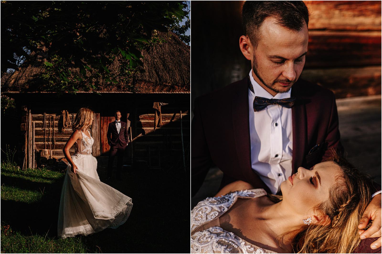 Kasia & Damian   ślub plenerowy w Kuźni Smaków i sesja w skansenie 133