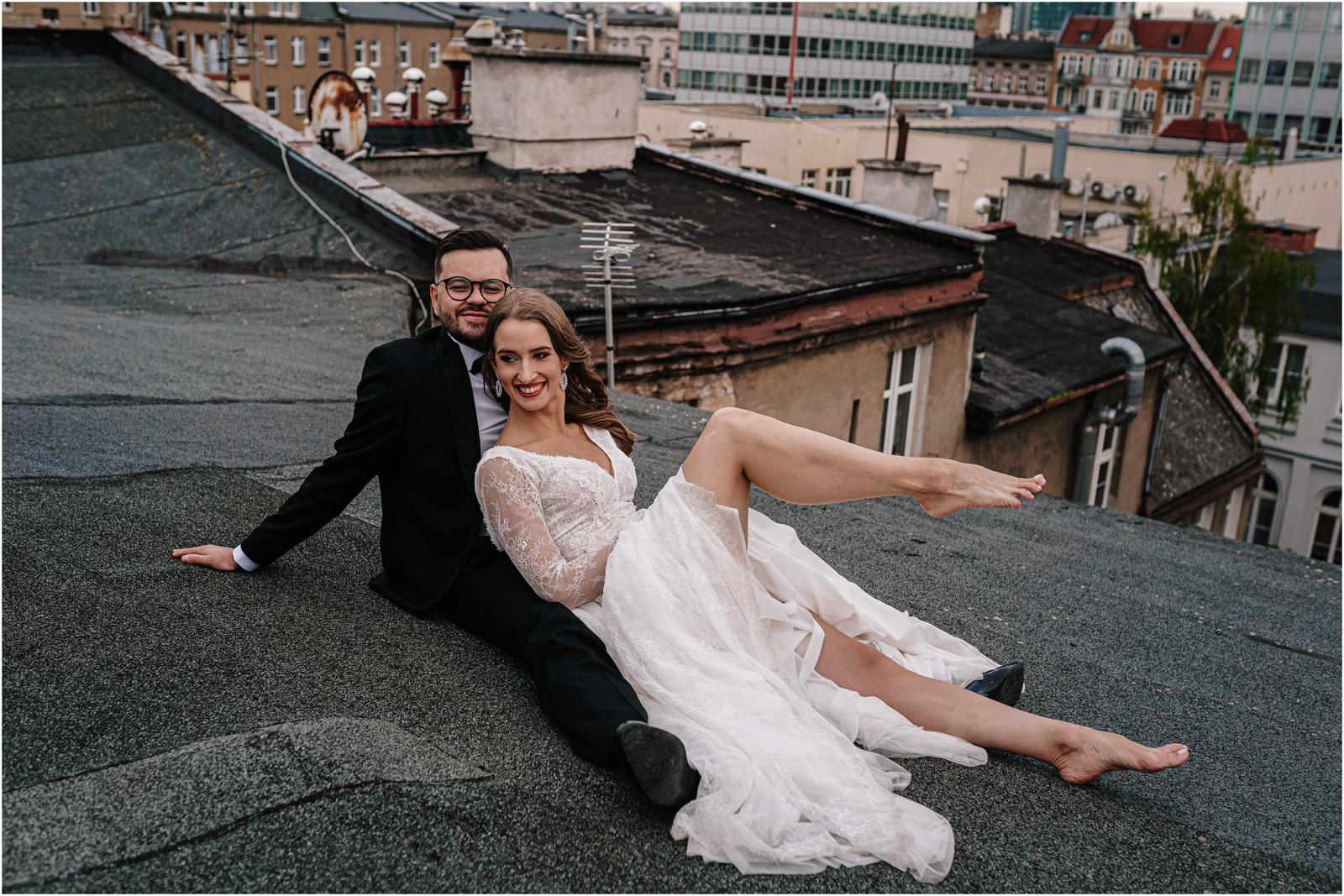 Asia & Andrzej | sesja na dachu w Poznaniu 39
