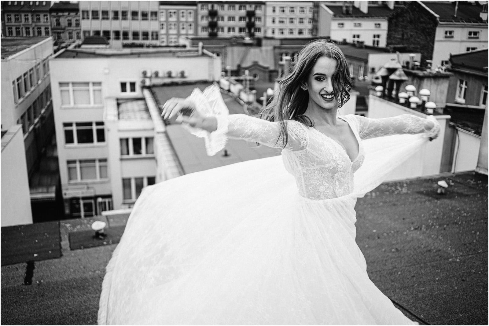 Asia & Andrzej | sesja na dachu w Poznaniu 46