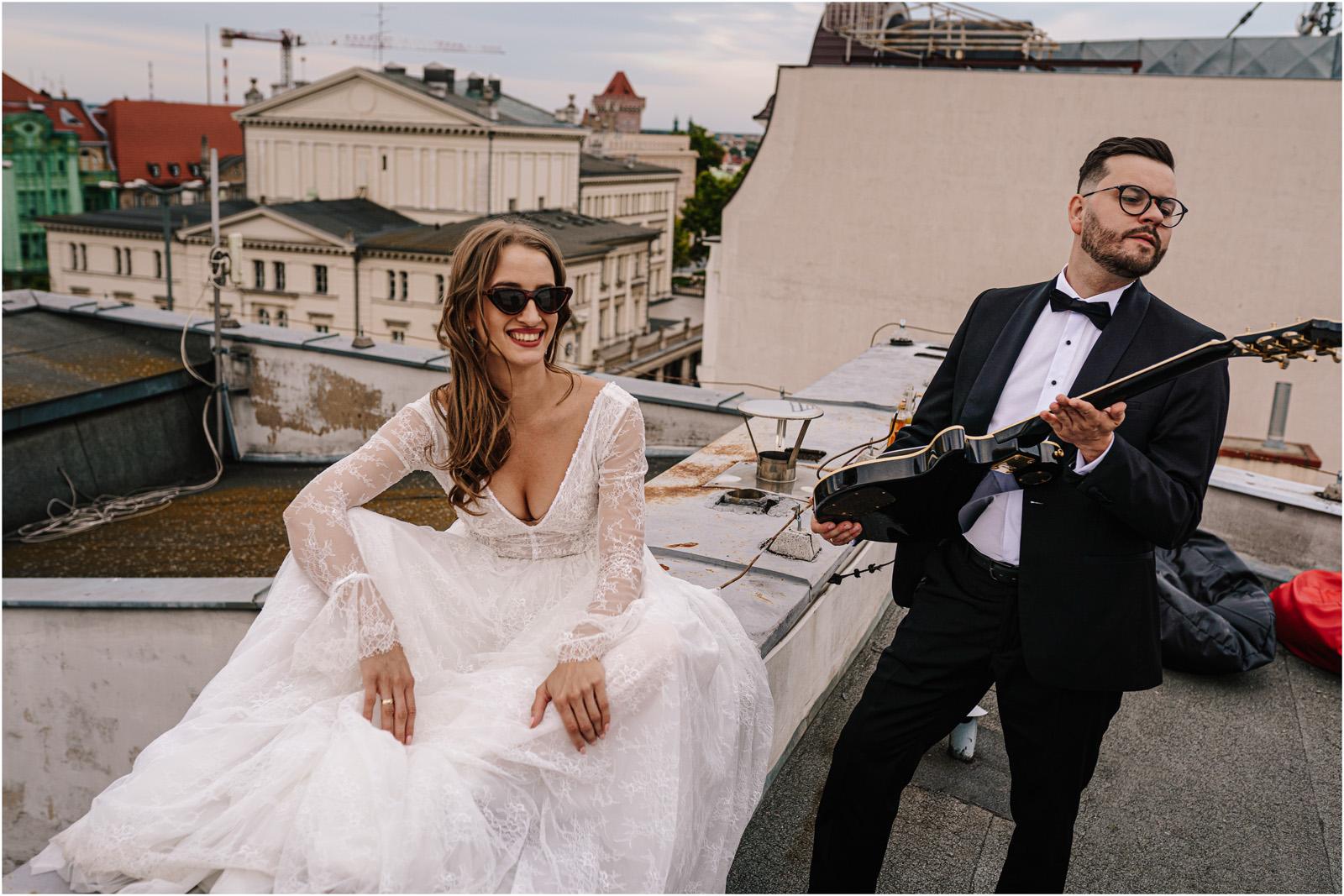 Asia & Andrzej | sesja na dachu w Poznaniu 43