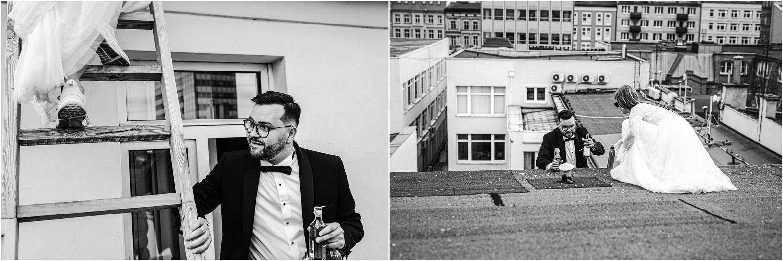 Asia & Andrzej | sesja na dachu w Poznaniu 36