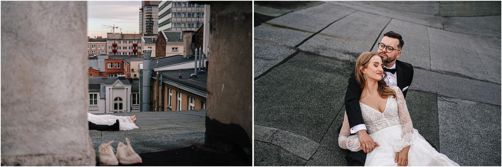 Asia & Andrzej | sesja na dachu w Poznaniu 40