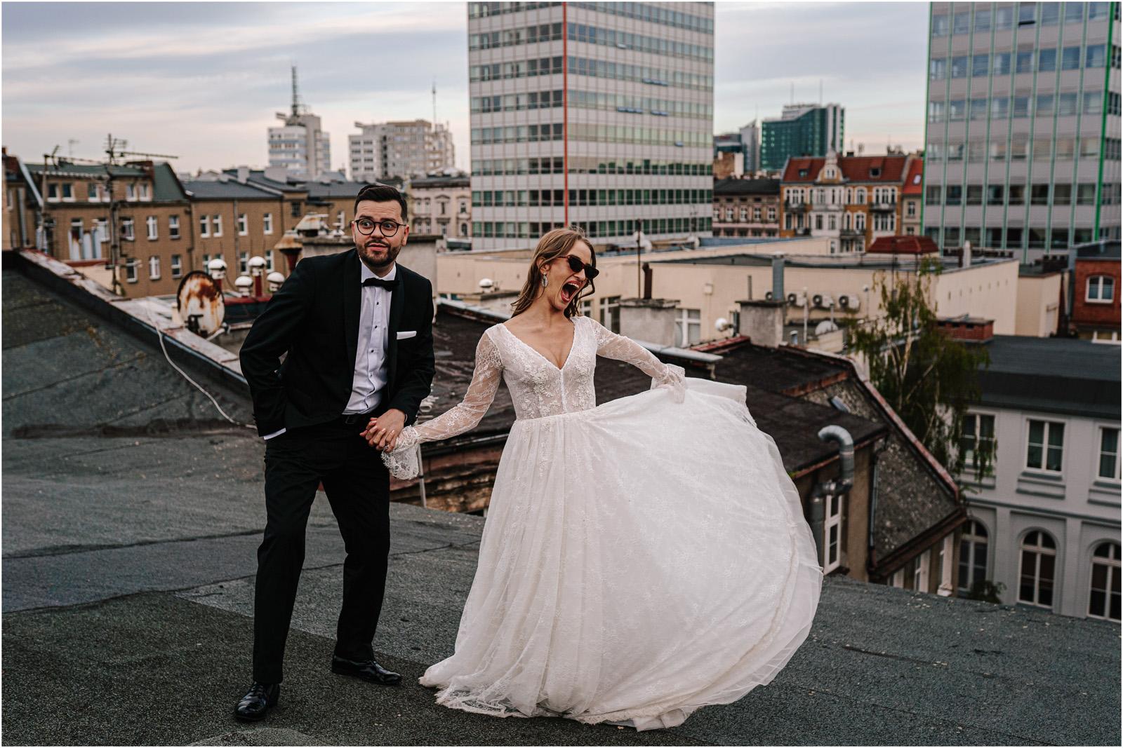 Asia & Andrzej | sesja na dachu w Poznaniu 41