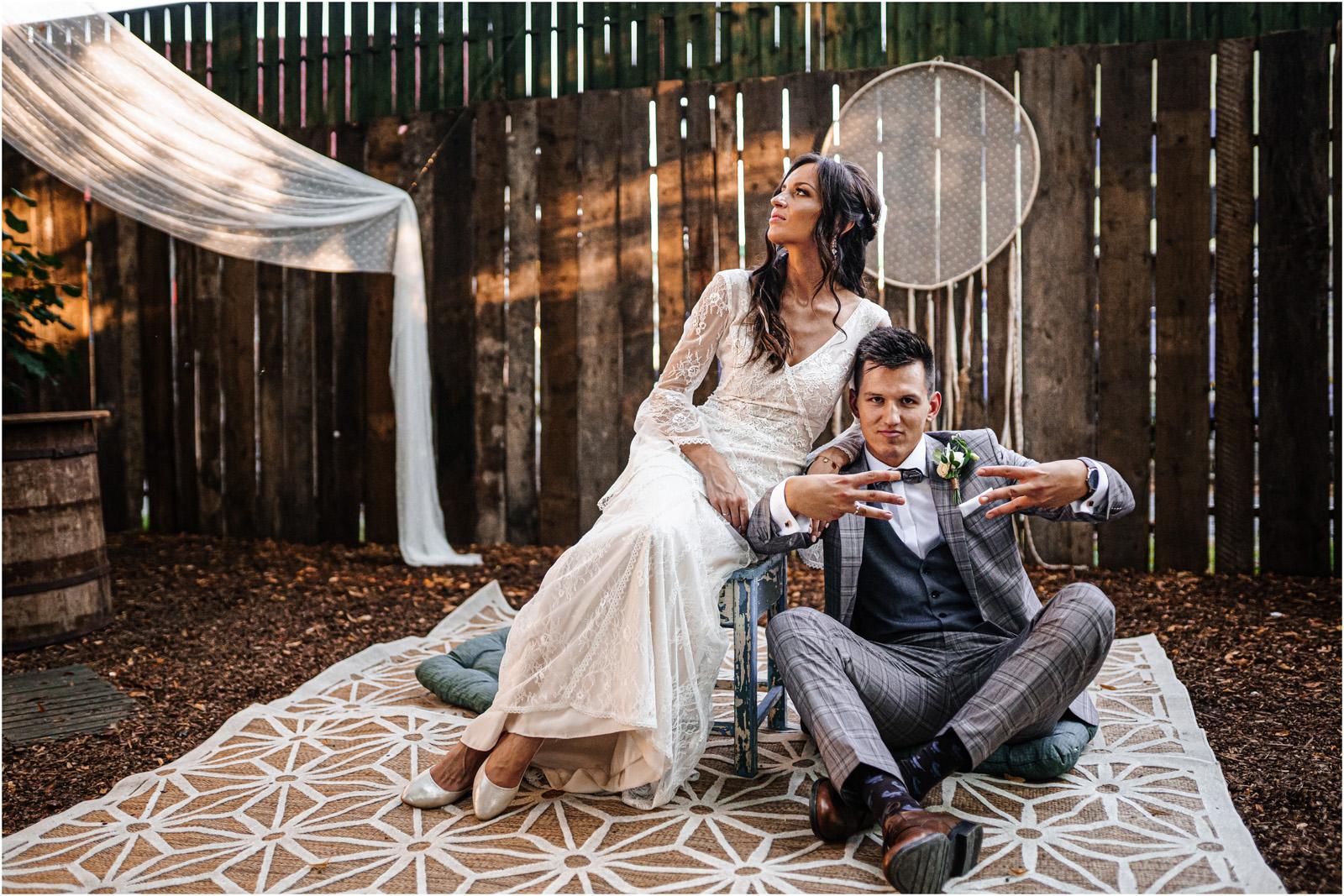 Ania & Mateusz | boho wesele w Stodole pod Kasztanami 95