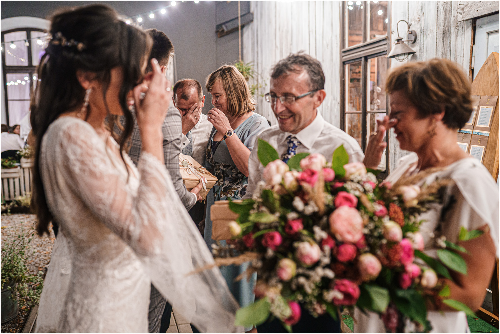 Ania & Mateusz | boho wesele w Stodole pod Kasztanami 137