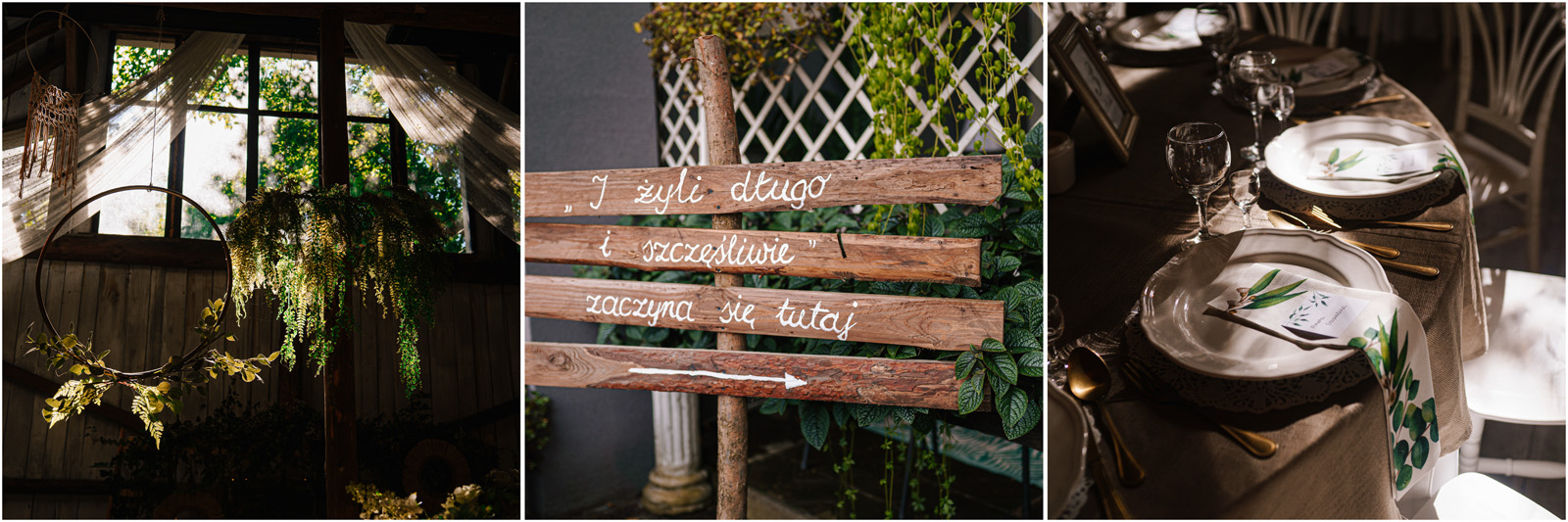 Ania & Mateusz | boho wesele w Stodole pod Kasztanami 68