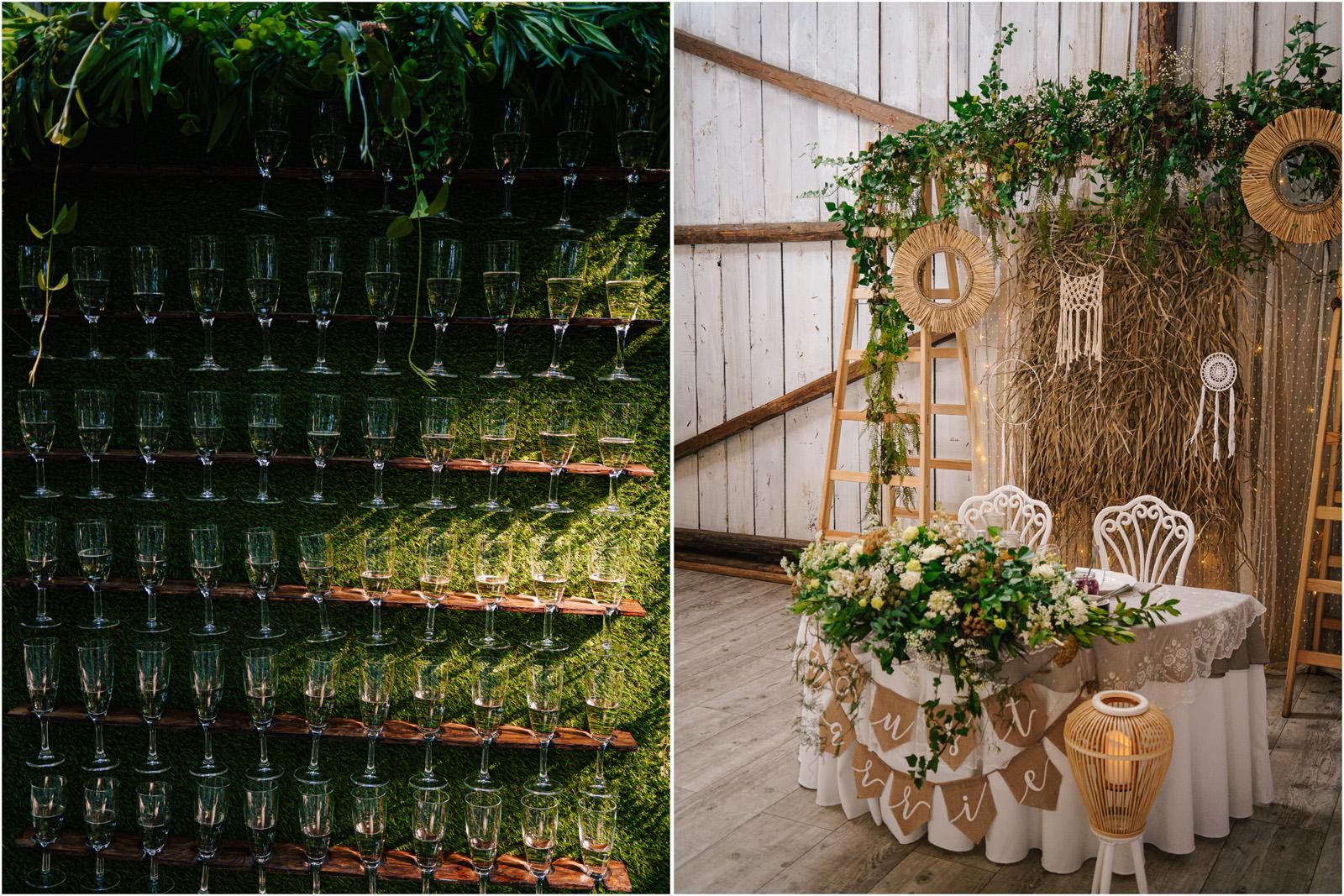 Ania & Mateusz | boho wesele w Stodole pod Kasztanami 67