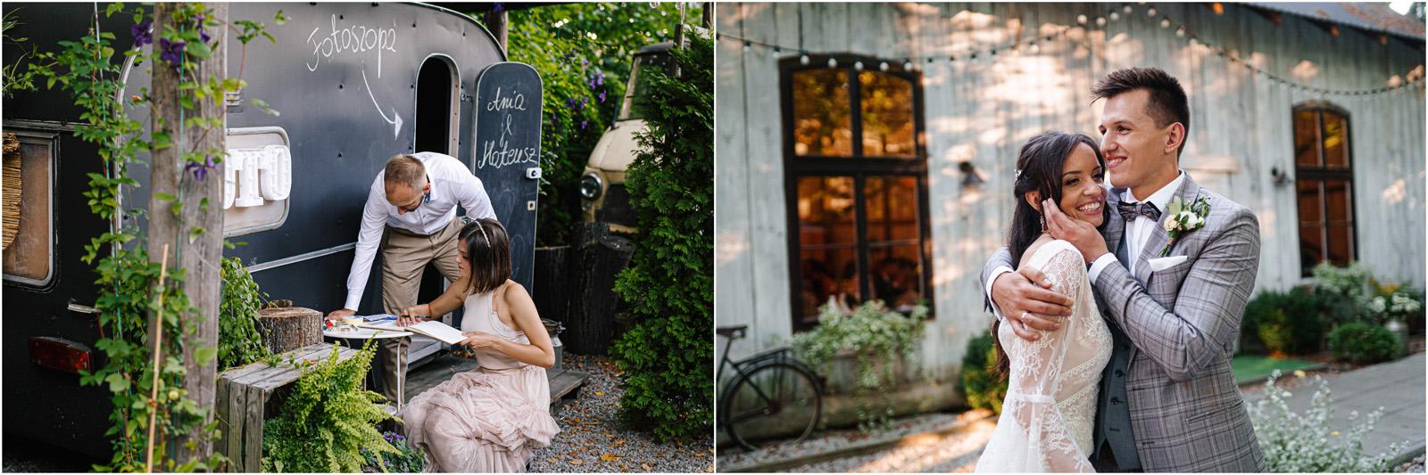Ania & Mateusz | boho wesele w Stodole pod Kasztanami 102