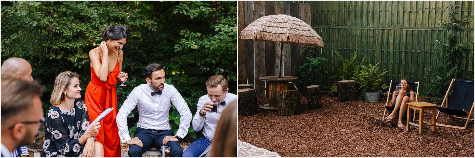 Ania & Mateusz | boho wesele w Stodole pod Kasztanami 96