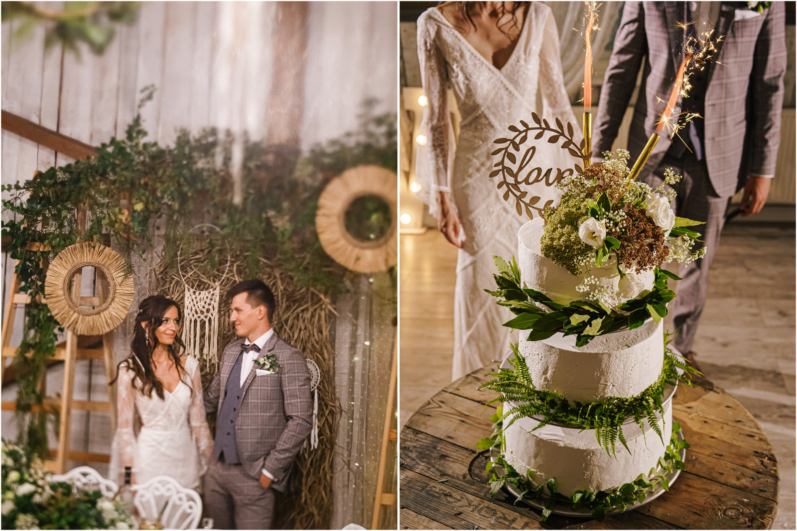 Ania & Mateusz | boho wesele w Stodole pod Kasztanami 86