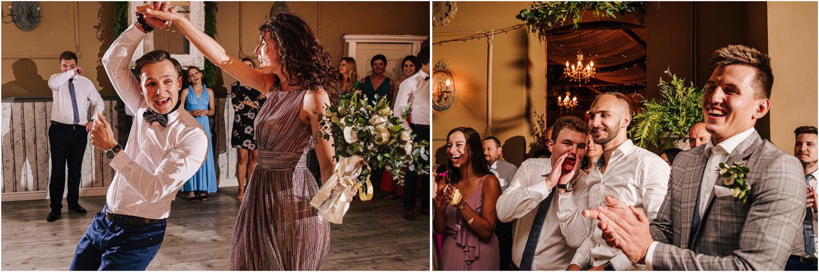 Ania & Mateusz | boho wesele w Stodole pod Kasztanami 146