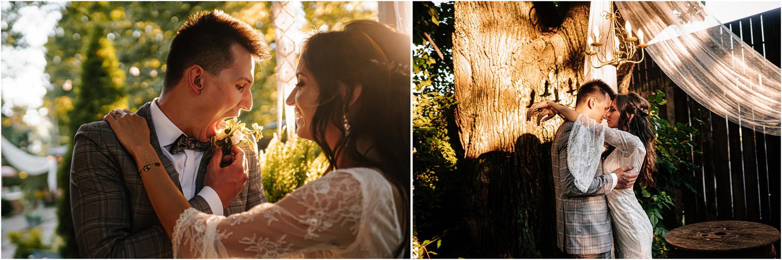 Ania & Mateusz | boho wesele w Stodole pod Kasztanami 94