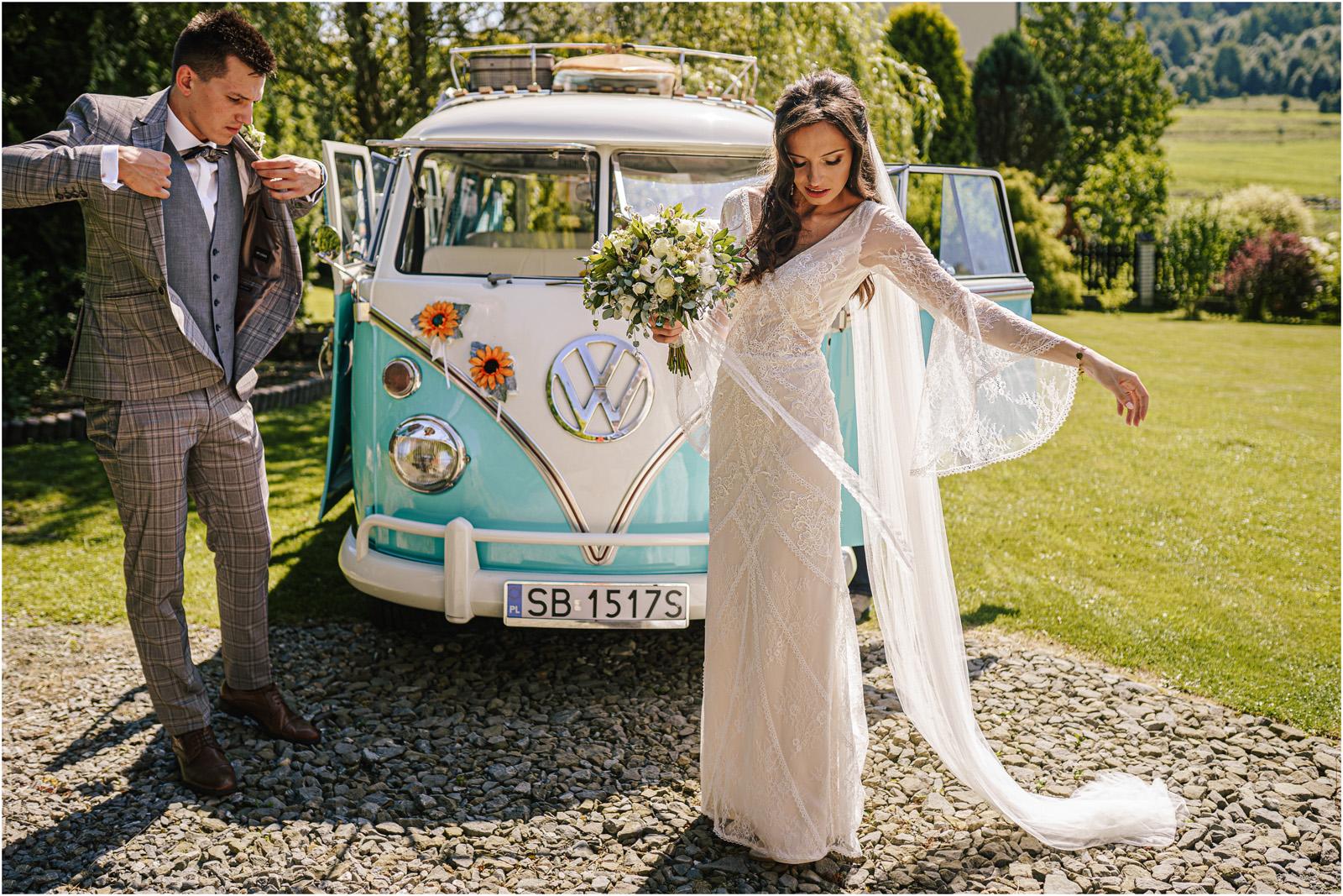 Ania & Mateusz | boho wesele w Stodole pod Kasztanami 28
