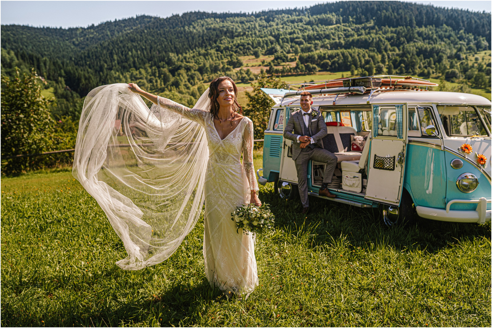 Ania & Mateusz | boho wesele w Stodole pod Kasztanami 54