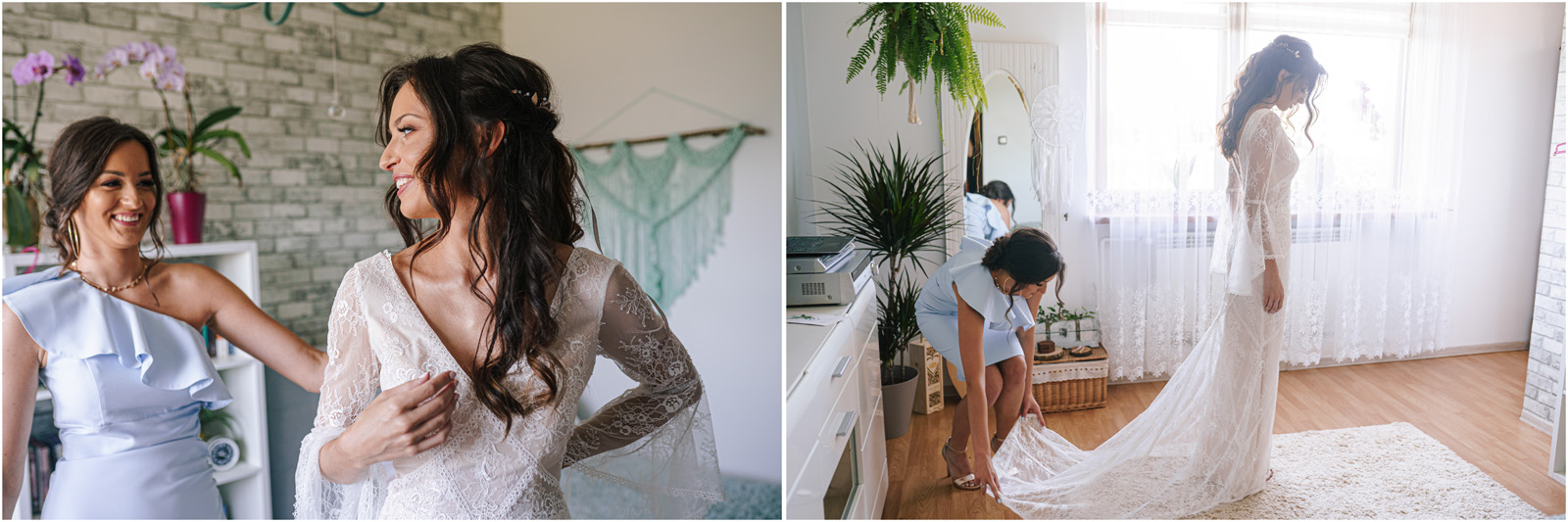 Ania & Mateusz | boho wesele w Stodole pod Kasztanami 12