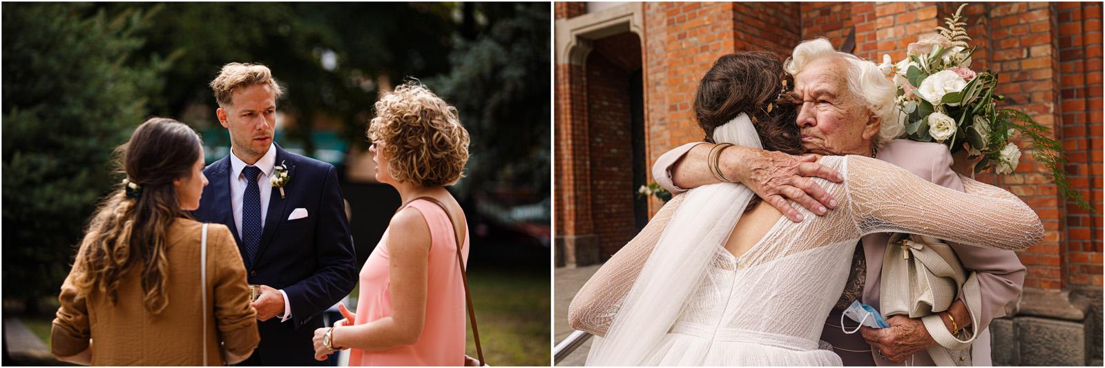 Justyna & Adrian | romantyczne wesele plenerowe w Jaworowym Dworze 26