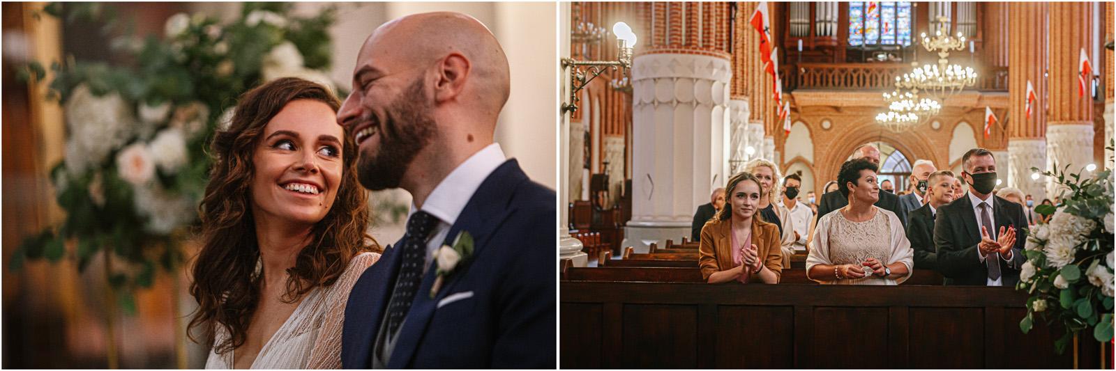 Justyna & Adrian | romantyczne wesele plenerowe w Jaworowym Dworze 37