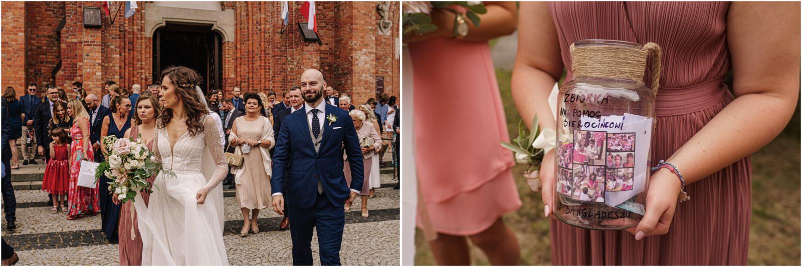 Justyna & Adrian | romantyczne wesele plenerowe w Jaworowym Dworze 41