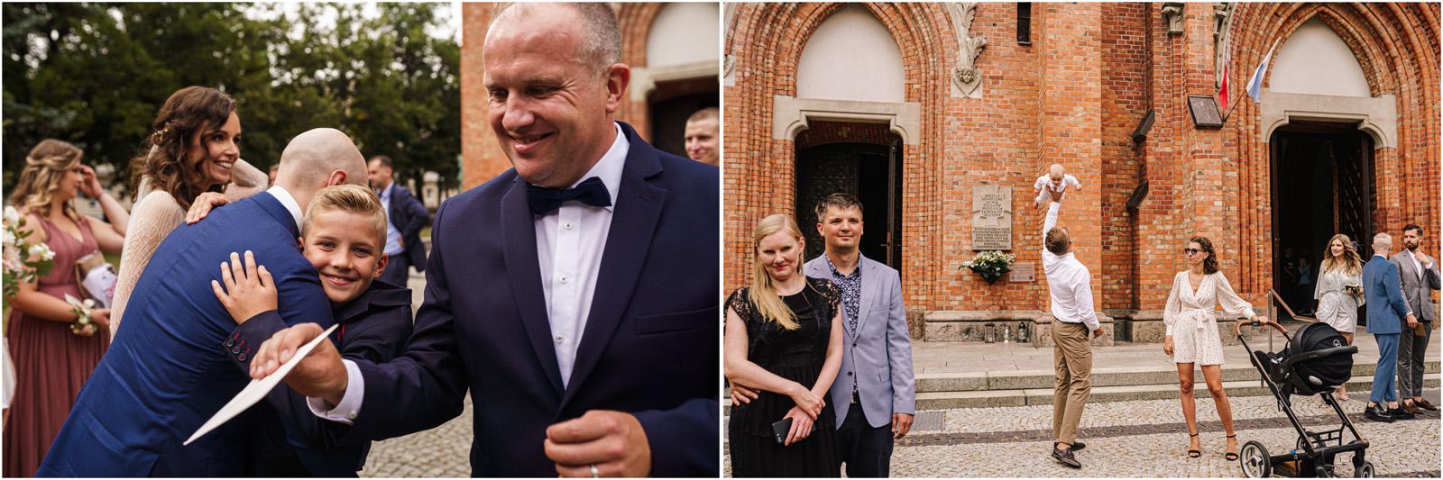 Justyna & Adrian | romantyczne wesele plenerowe w Jaworowym Dworze 43