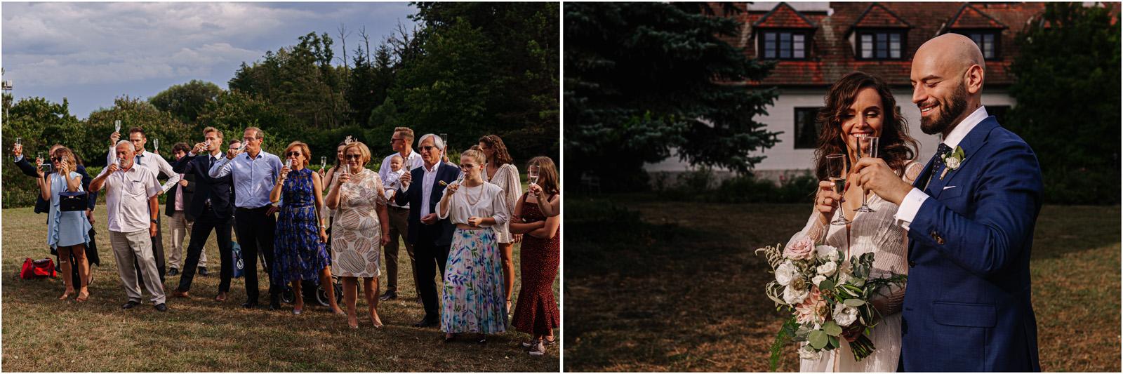 Justyna & Adrian | romantyczne wesele plenerowe w Jaworowym Dworze 61