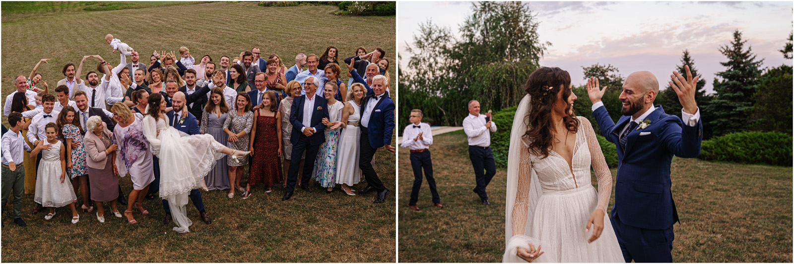 Justyna & Adrian | romantyczne wesele plenerowe w Jaworowym Dworze 88
