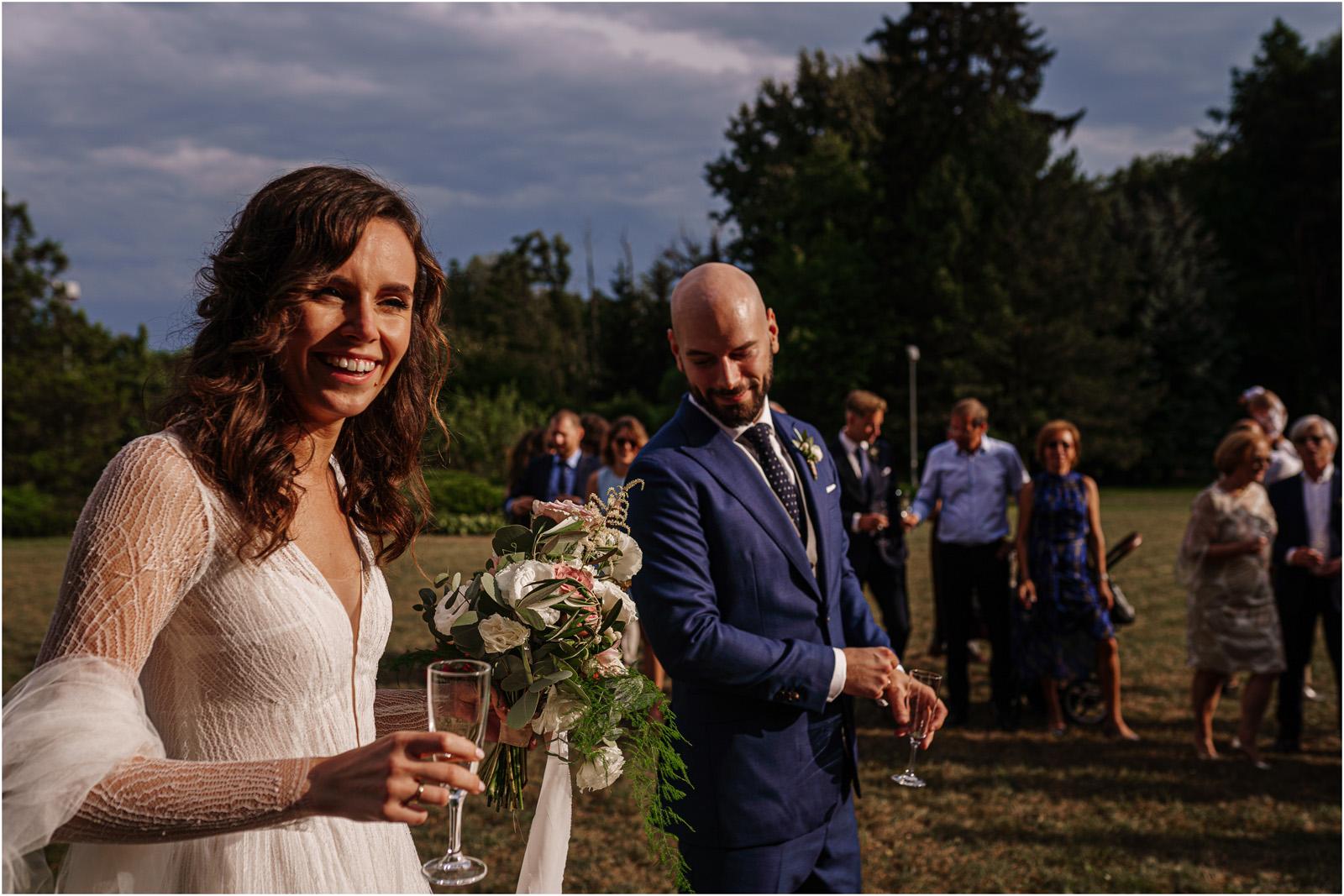 Justyna & Adrian | romantyczne wesele plenerowe w Jaworowym Dworze 62