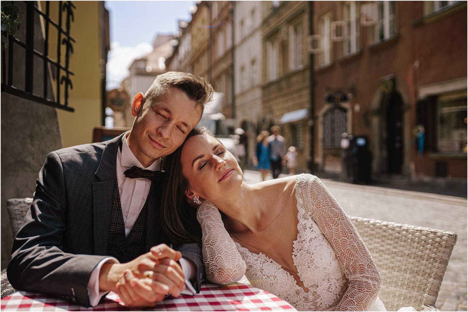 Monika & Marcin | sesja na Starym Mieście w Warszawie 39