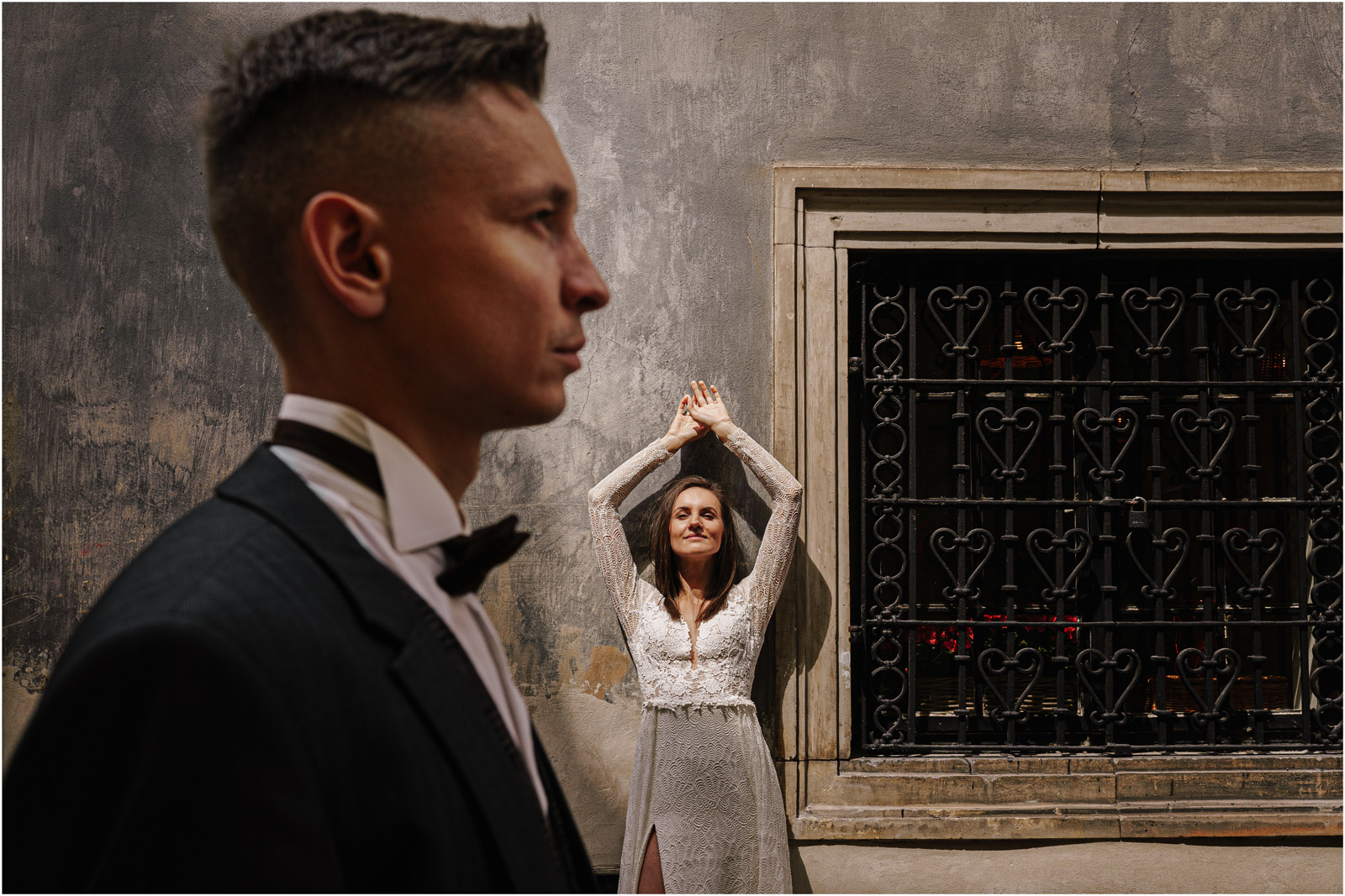 Monika & Marcin | sesja na Starym Mieście w Warszawie 47