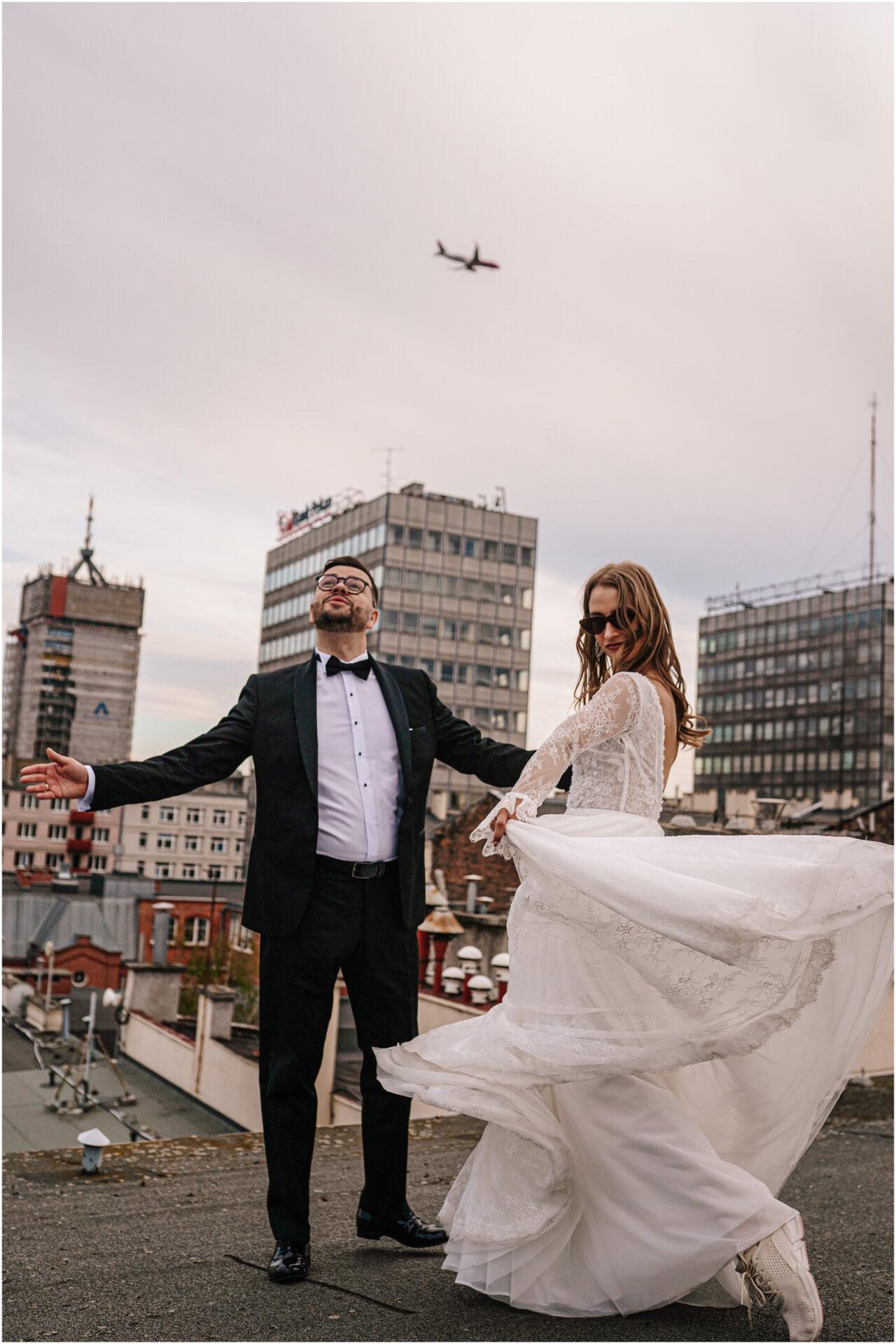 Asia & Andrzej | sesja na dachu w Poznaniu 44