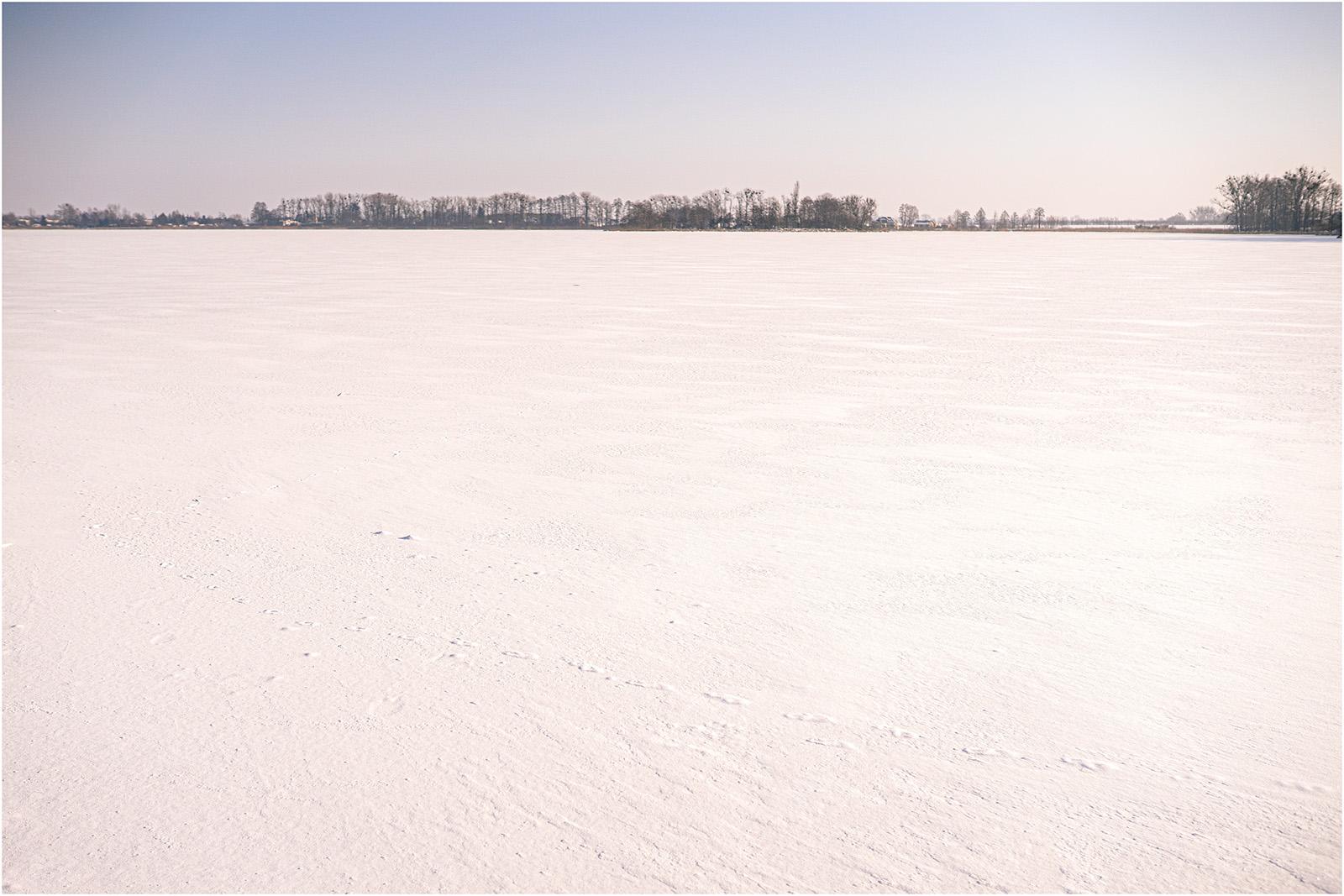 Paulina & Bartek | zimowa sesja nad jeziorem 1