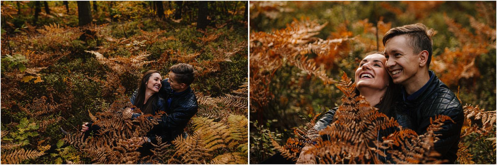 Monika & Marcin | jesienna sesja w Skałkach Piekło 5
