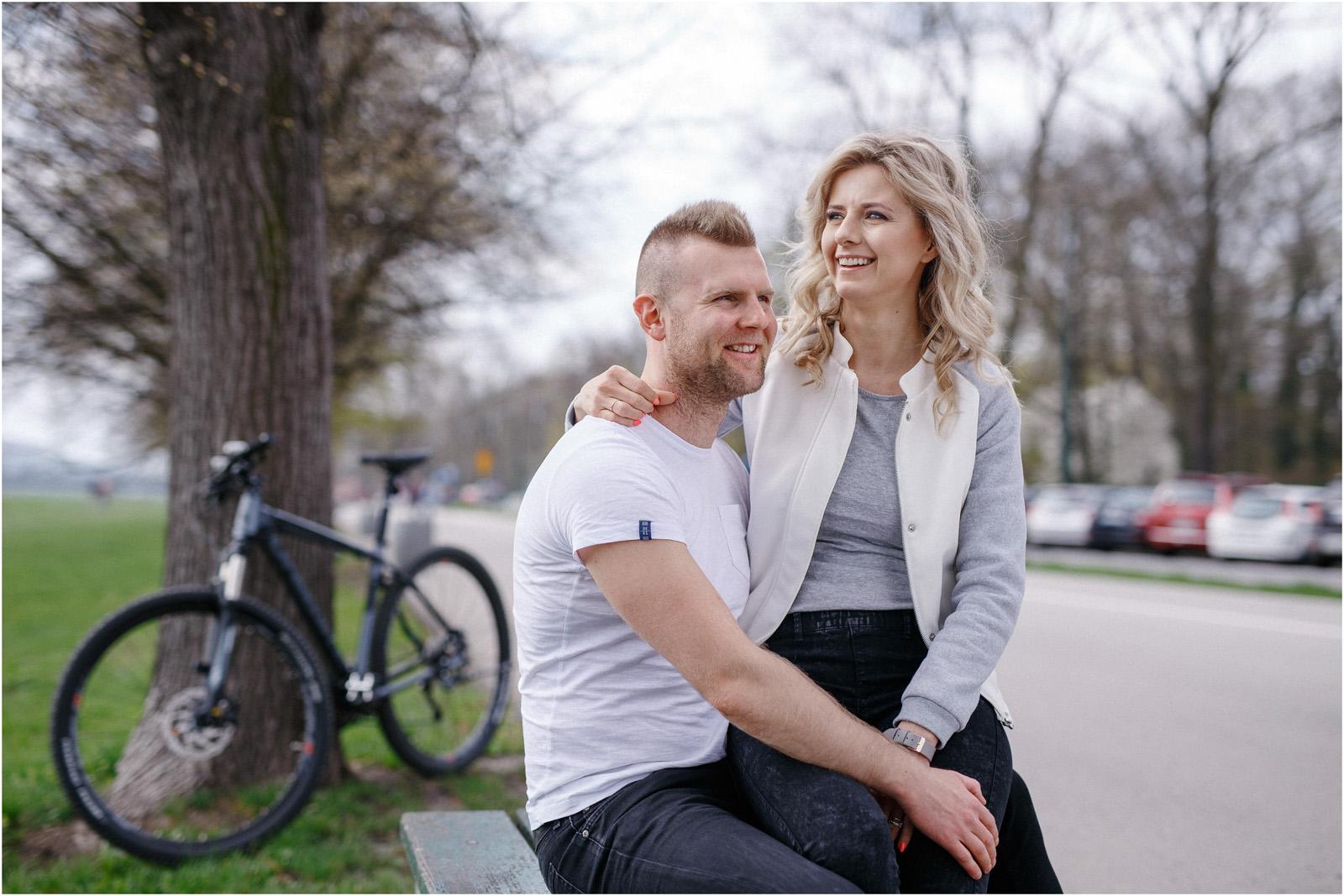 Kasia & Tomek | wiosenna sesja w Krakowie 7