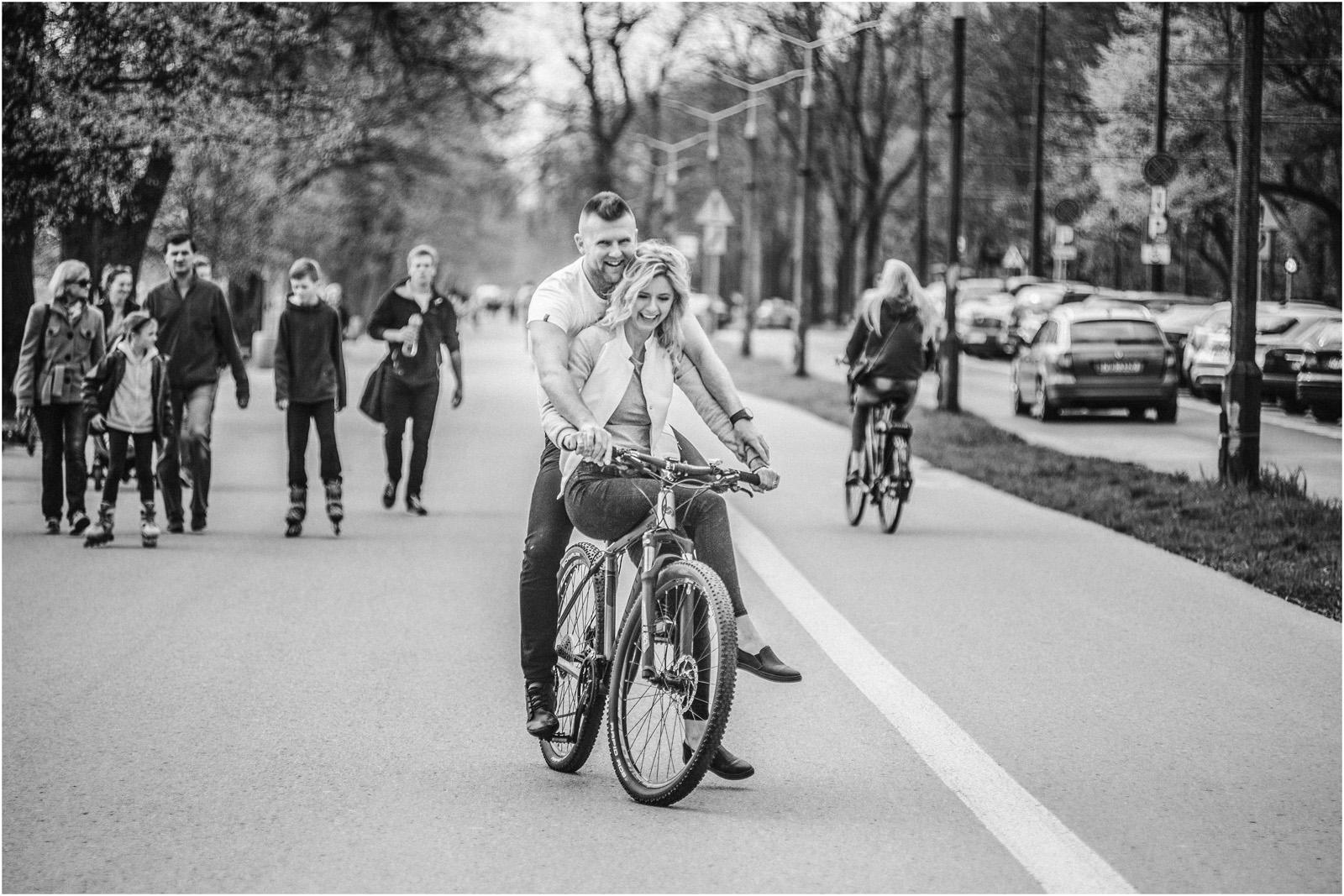Kasia & Tomek | wiosenna sesja w Krakowie 4