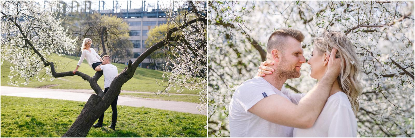 Kasia & Tomek | wiosenna sesja w Krakowie 13