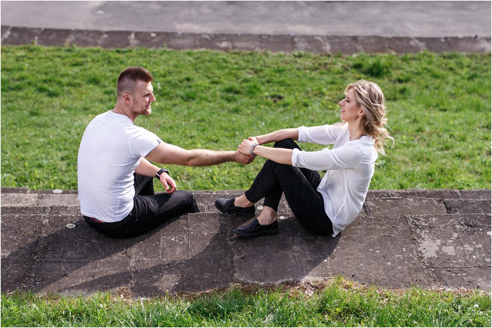 Kasia & Tomek | wiosenna sesja w Krakowie 12